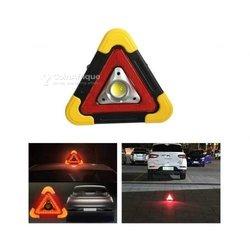 Triangle de signalisation à led portable - Usb rechargeable