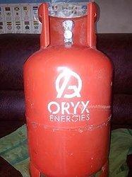 Bouteille de gaz Oryx