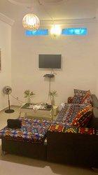 Location Appartement meublé 2 pièces - Cocody 2 Plateau Cité Sanon