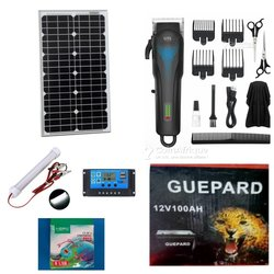 Kit tondeuse solaire