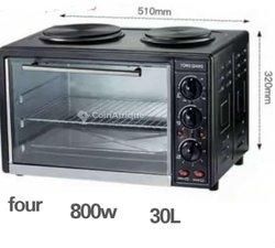 Four électrique à plaque chauffante
