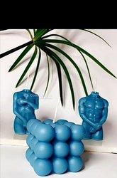 Bougies sculptées