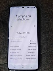 Samsung Galaxy S21 - 128 Go