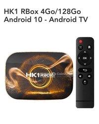 Boîtier smart TV HK1 Rbox R1 Max