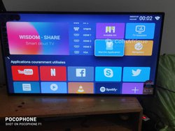 Smart TV Android Smart Technology 43 pouces