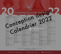 Conception design calendrier 2022