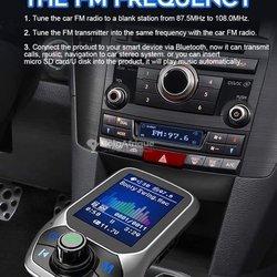 Lecteur MP3 multi-usages voiture