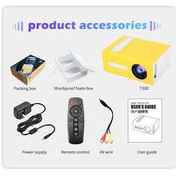 Mini vidéo projecteur LED Pro HD