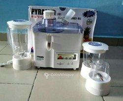 Mixeur 3 bols + extracteur de jus