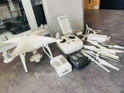 Drone 4k dji phantom 4 avec 2 batteries