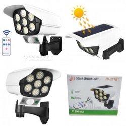 Lampadaire solaire détecteur