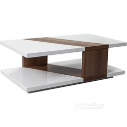 Table centrale blanche