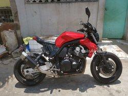 Moto Yamaha FZS GT Sport
