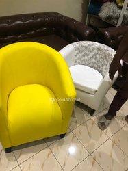Chaise bourrée