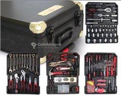 Valise à outils - 256 pièces