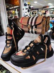 Sac à main + chaussures femme