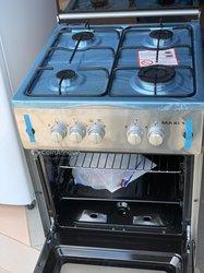 Cuisinière 4 foyers à gaz avec four