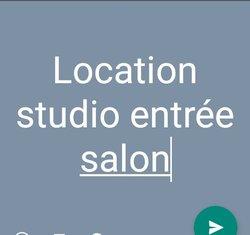 location studio 1pièce - hlm grand yoff