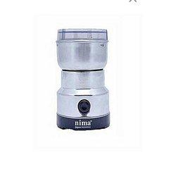 moulin à grains électrique - gris - 150 w - inox