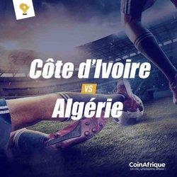 Côte d'Ivoire vs Algérie