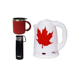 pack - mug isotherme + thermos + bouilloire