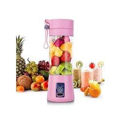 mixeur de fruits portable - 80 w - rose