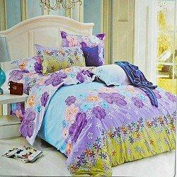 Drap de lit + couvre lit et taies d'oreiller