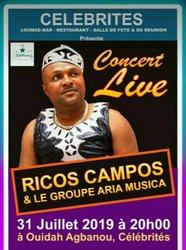Géant concert de Ricos Campos