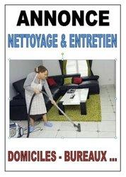 Nettoyage et entretien de domiciles-bureaux