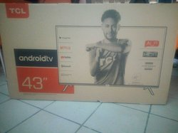 """tv tcl android hdr 43"""""""