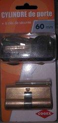 Canon cylindre avec 6 clés