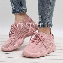 chaussures fashion rose