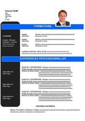 Modèles CV Curriculum Vitae