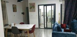 location appartement f3 meublé - cité biagui