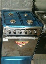 Cuisinière 4 feux - inox