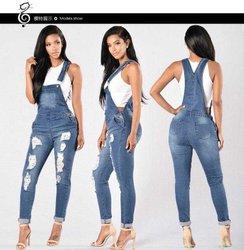 Salopette jeans