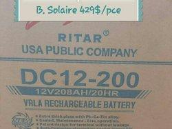 Batterie solaire Ritar