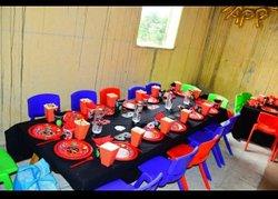 Service de décoration d'anniversaire pour enfants