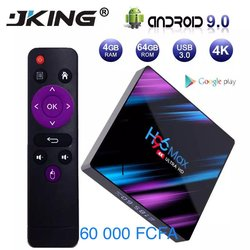 H96 Max 9.0 Android TV Box Rockchip RK3318