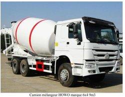Panda camion mélangeur en Chine